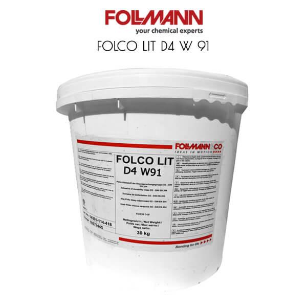 FOLCO LIT D4 W 91 ПВА клея повышенной влагостойкости