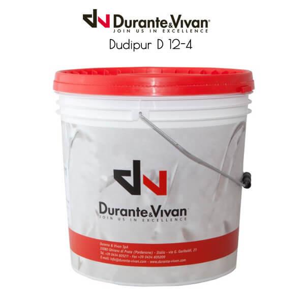 DUDIPUR D12-4. Двухкомпонентный клей на основе водной дисперсии полиуретана