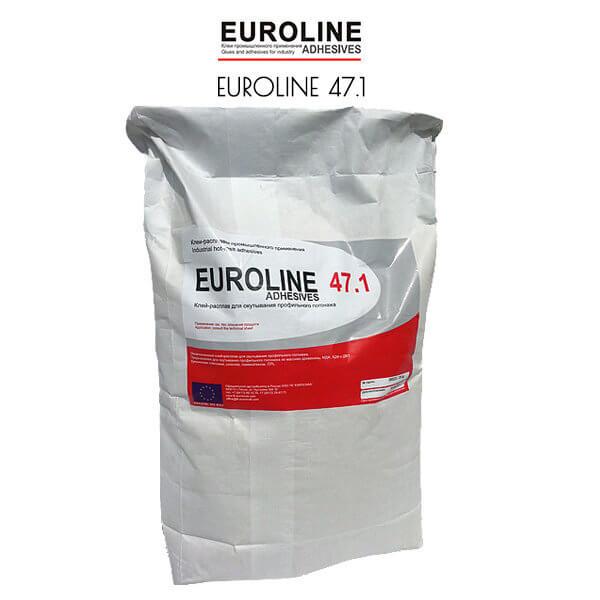 EUROLINE 47.1 Ненаполненный клей-расплав для окутывания профильного погонажа