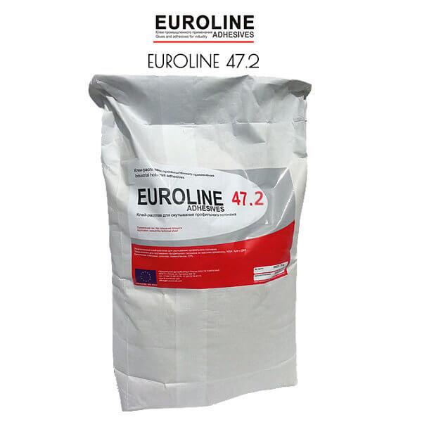 EUROLINE 47.2 ненаполненный клей-расплав для окутывания профильного погонажа