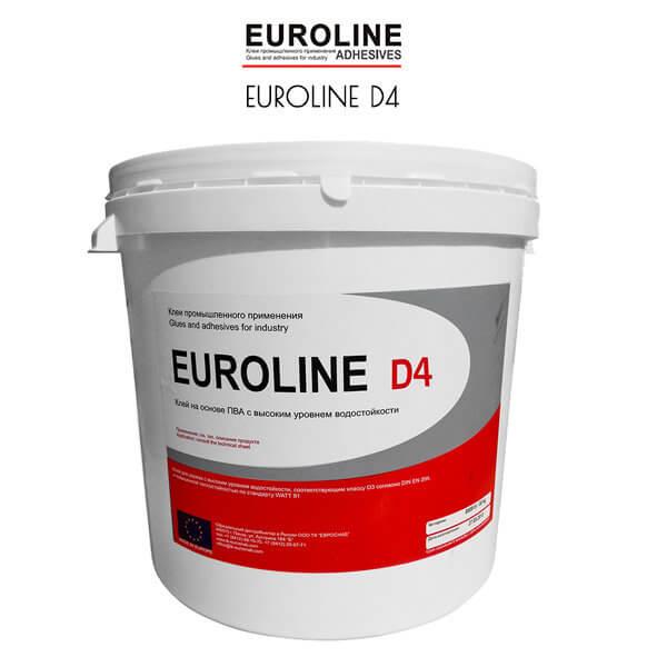 Клей ПВА EUROLINE D4 для тех кому важна влагостойкость