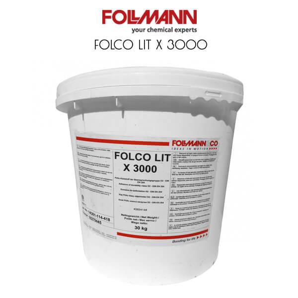 FOLCO® LIT X 3000 – это дисперсионный клей без наполнителей на основе поливинилацетата D3