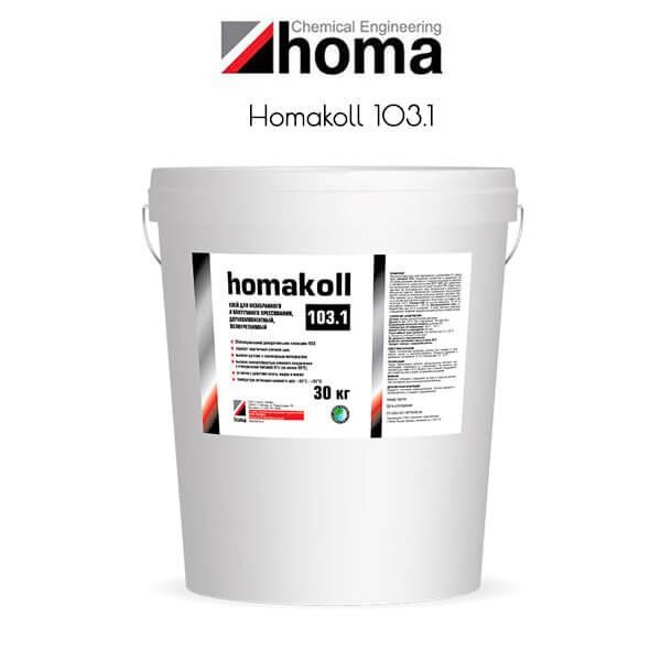 homakoll 103.1 для 3D-облицовывания рельефных поверхностей
